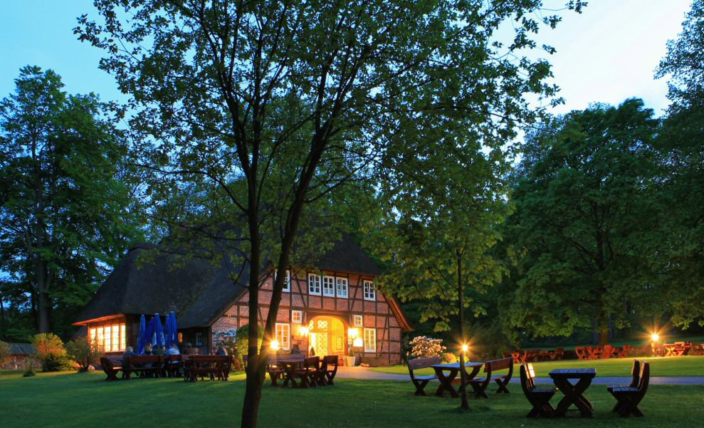 Abendidyllee ... © Hof Tütsberg