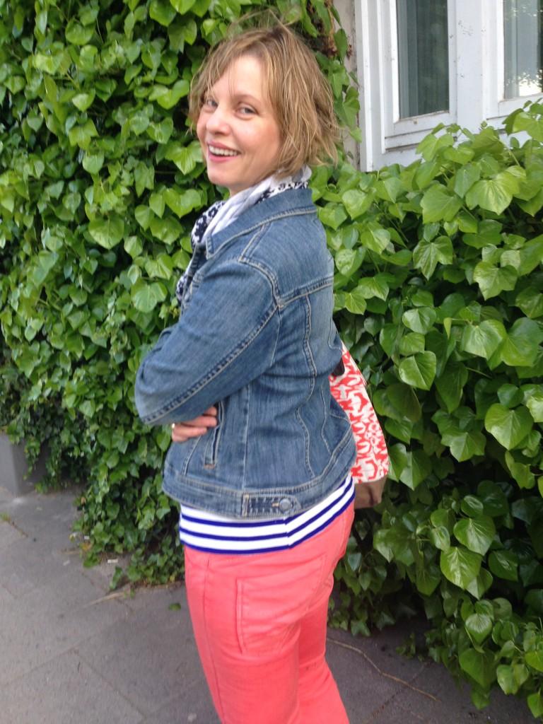 Kurve gekriegt: Verena Carl im neuen Outfit