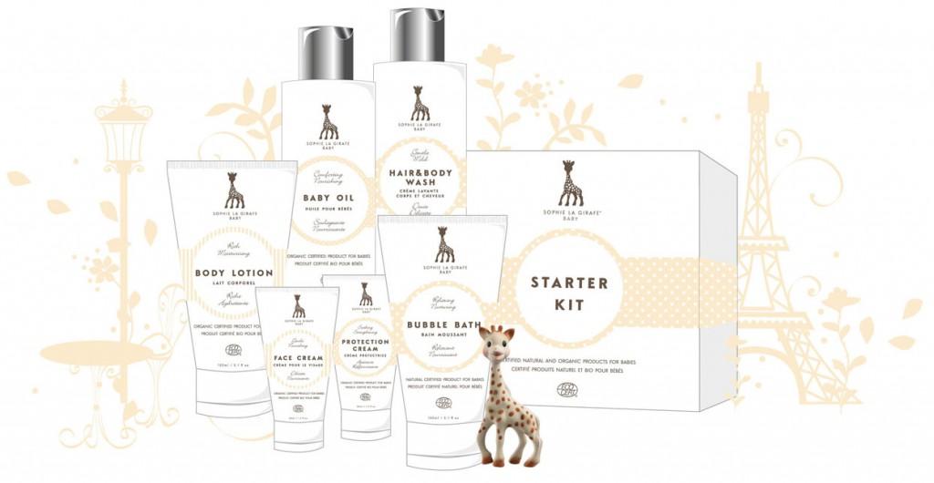 Bislang gibt es sechs Produkte von @sophielagirafecosmetic