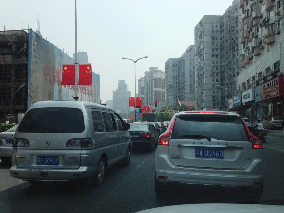 Autofahren in Schanghai