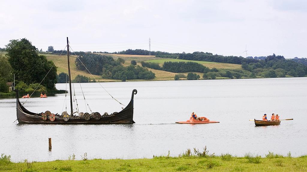 Blick auf den Fårup See © visitvelje.dk