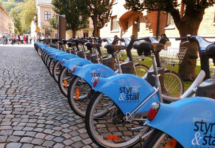Praktisch in fast jeder Großstadt: Leihräder ©reverent/pixabay.com