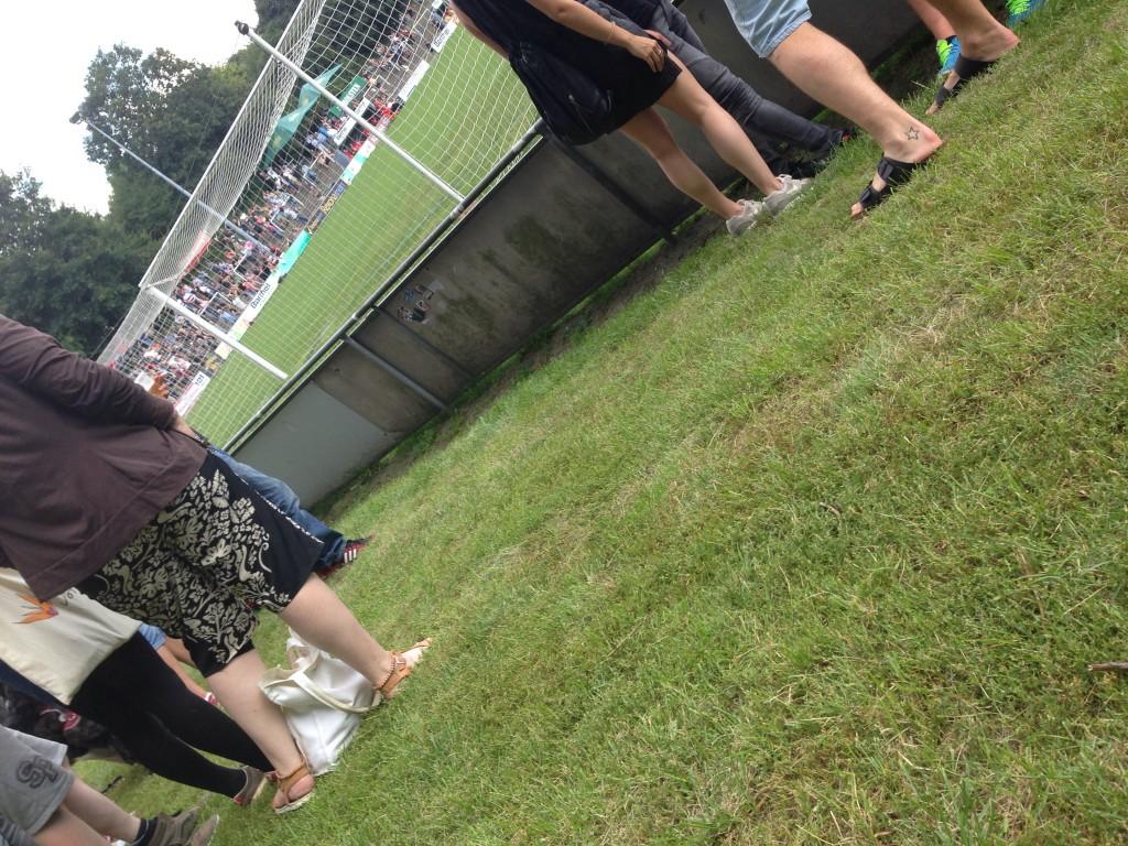 #erstemale im Fußballstadion