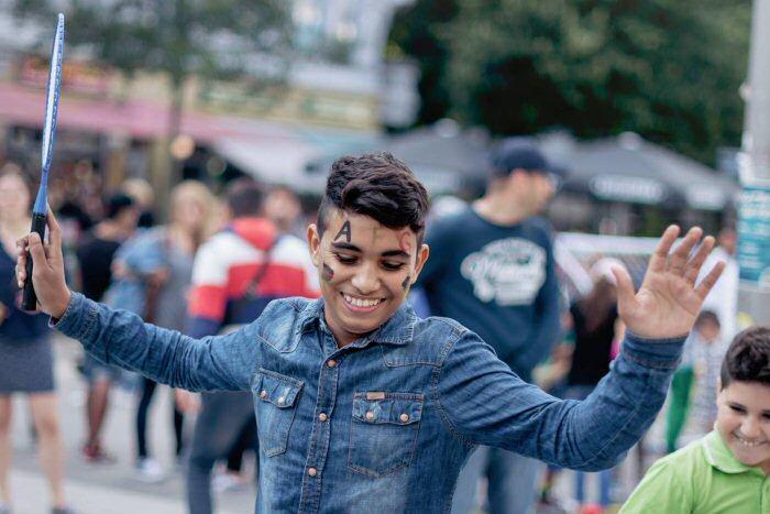Tanz und Musik: Auch das hilft ...©Daniela Merz / Humans of Hamburg
