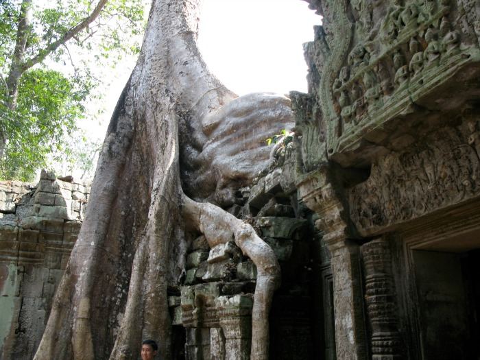 Filmtourismus 40-something.de Angkor Wat Tomb Raider Angelina Jolie