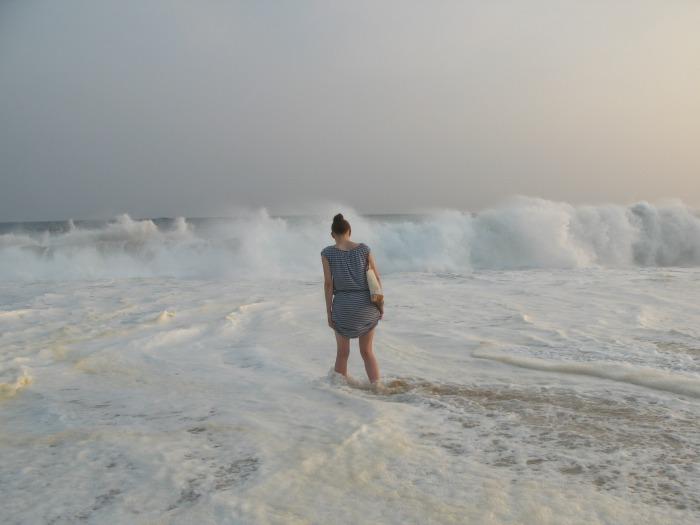 Was ist los mit dir, Meer? Eben noch handzahm und jetzt aufbrausend und wild ©estherlangmaack