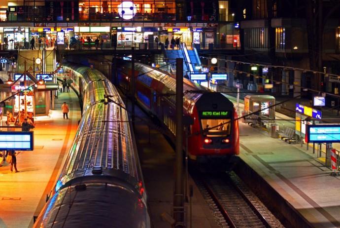 Meist das Ziel: Hamburger Hauptbahnhof (c) pixelo.com