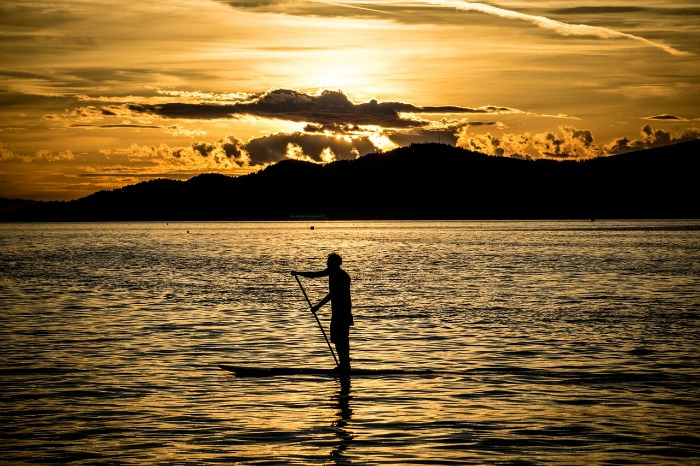 Fitness fuer Frauen stand-up-paddling 40-something.de