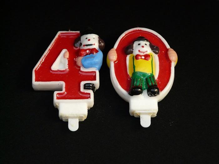 40plus Zeichen am Geburtstag