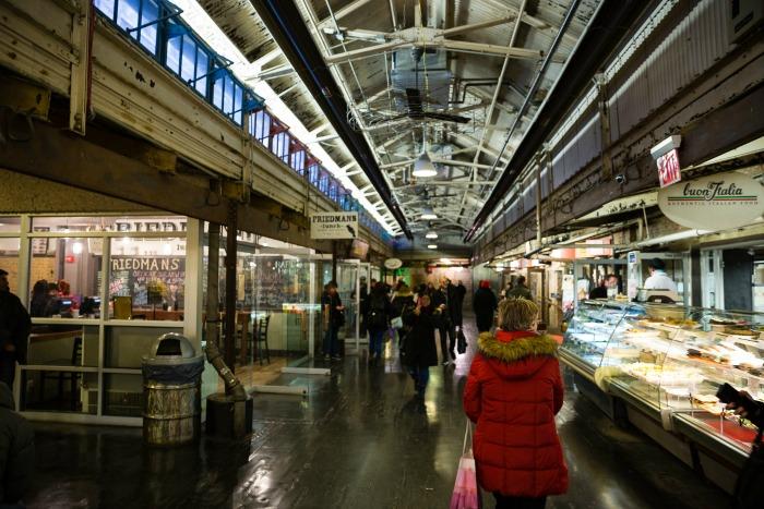 New York kulinarisch Chelsea Market: gucken, essen, schauen, kaufen @Ann-Christin Bassin