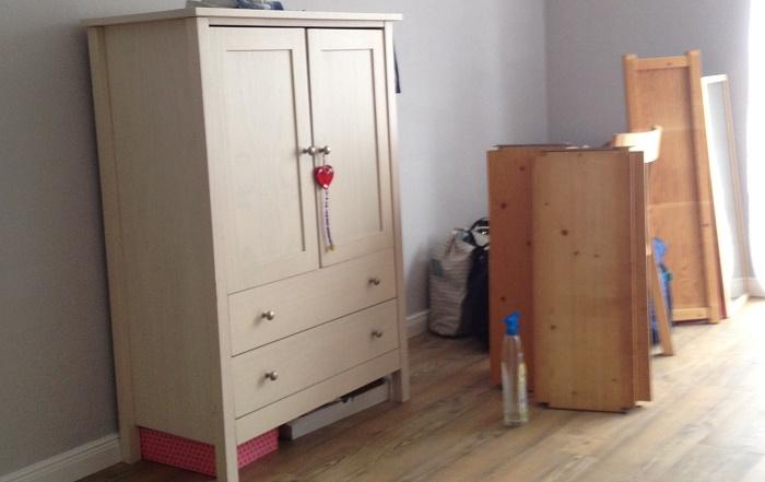 Neuanfang Wohnung renovieren - es muss aufgeräumt werden