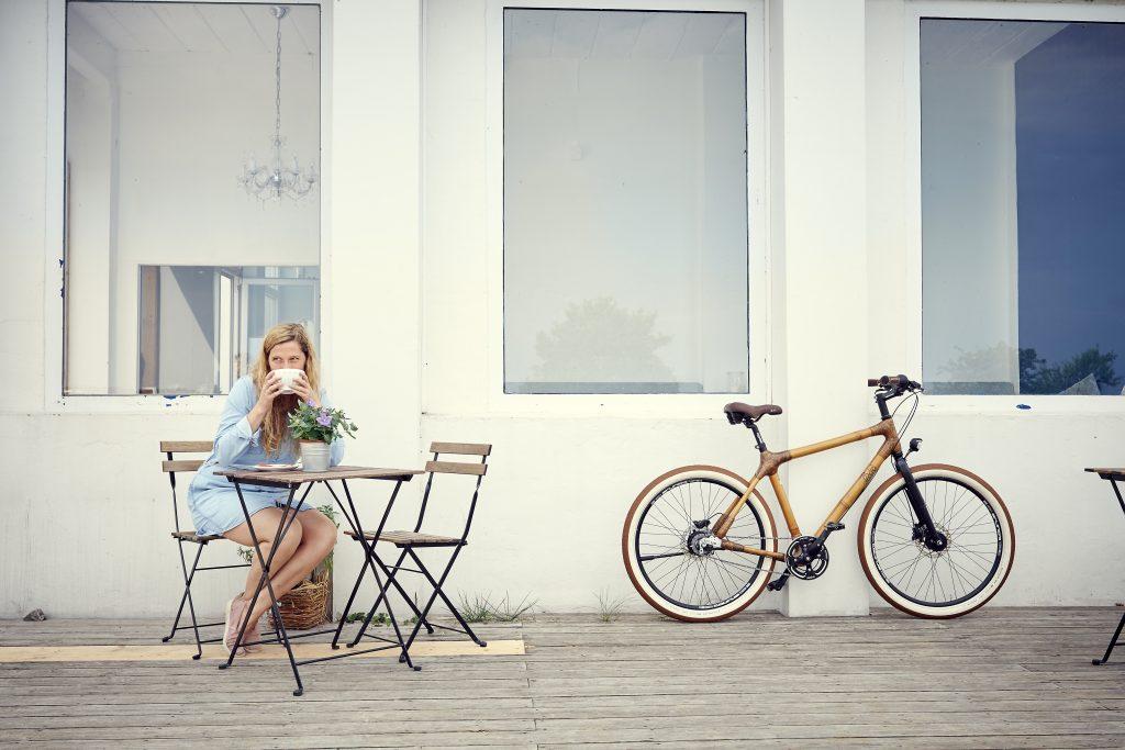 Bambus-Bike