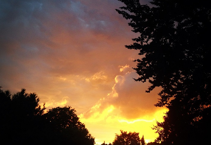 Lieben und lieben - im Sonnenuntergang