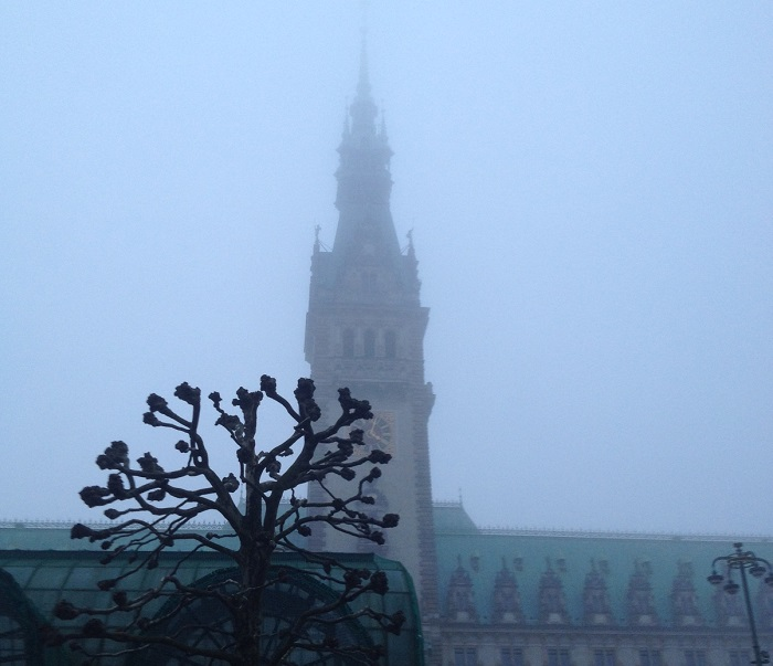 Unfreiwillige Entschleunigung - da Nebel im Kopf