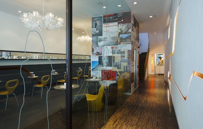 Meran im Regen Design Hotel ImperialArt