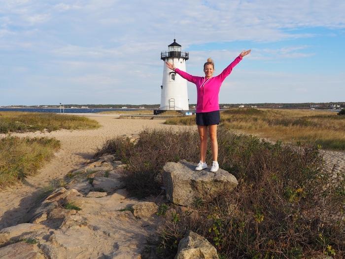 Martha's Vineyard Tina Wolf bei ihrem Sabbatjahr ab 40 an der amerikanischen Ostküste