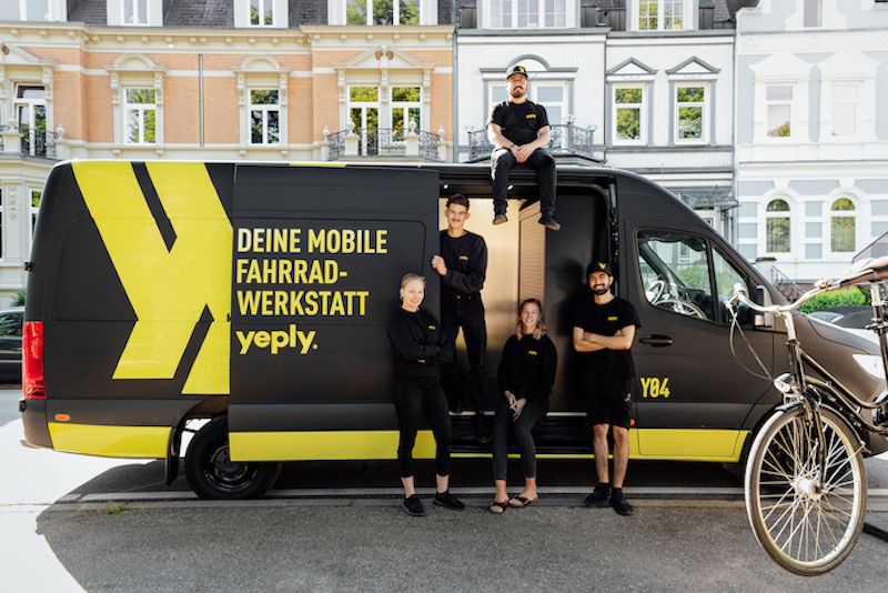 Mobiler Fahrradservice Yeply
